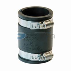 Fernco® 1056-150 Flexible Pipe Coupling, 1-1/2 in, Plastic, PVC, Domestic
