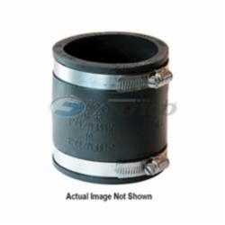 Fernco® 1056-33SR 1056SR Flexible Pipe Coupling With Shear Ring, 3 in, Cast Iron/Plastic, PVC