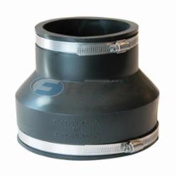 Fernco® 1056-64 Flexible Pipe Coupling, 6 x 4 in, Cast Iron/Plastic, PVC, Domestic