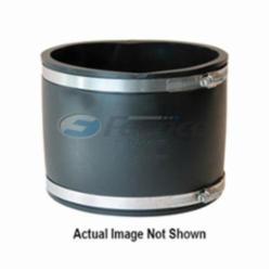 Fernco® 1056-66 Flexible Pipe Coupling, 6 in, Cast Iron/Plastic/Steel/Lead, PVC, Domestic