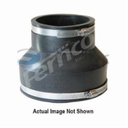 Fernco® 1056-86 Flexible Pipe Coupling, 8 x 6 in, Cast Iron/Plastic, PVC, Domestic