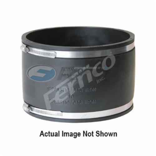 Fernco® 1056-88 Flexible Pipe Coupling, 8 in, Plastic, PVC, Domestic