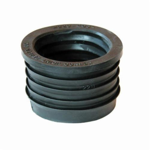 Fernco® 22U Pipe Donut, 2 in, SV x Plastic, SCH 40/STD, PVC, Domestic