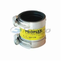Fernco® PROFLEX® 3003-150 Shielded Pipe Coupling, 1-1/2 in, C, Domestic