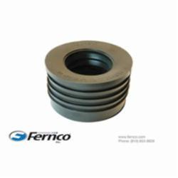Fernco® 33U-205 Pipe Donut, 3 x 2 in, Cast Iron SV Hub x Plastic/Steel, SCH 40/STD, PVC