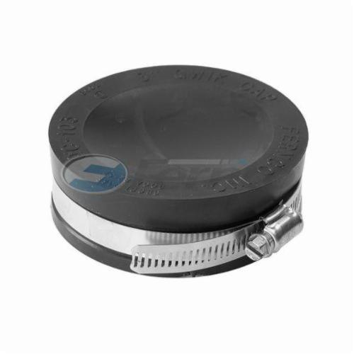 Fernco® QC-104 QC Series Qwik Cap, 4 in, PVC, Domestic