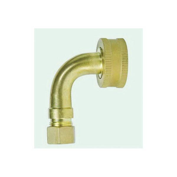 Fluidmaster® 7150W Dishwasher Fitting, 3/4 x 3/8 in, Brass