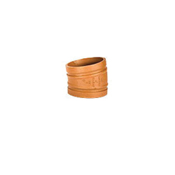 Grinnell® 21130S 11-1/4 deg Pipe Elbow, 3 in, Grooved, Ductile Iron, Painted