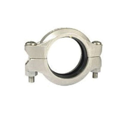 "Grinnell® 40560EN Flexible Coupling With Grade ""EN"" EPDM Gasket, 6 in, Grooved, 316 Stainless Steel"
