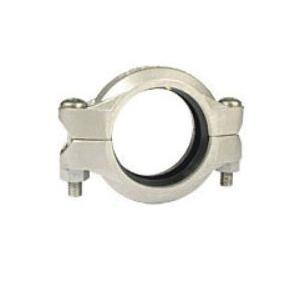 "Grinnell® 40580EN Flexible Coupling With Grade ""EN"" EPDM Gasket, 8 in, Grooved, 316 Stainless Steel"