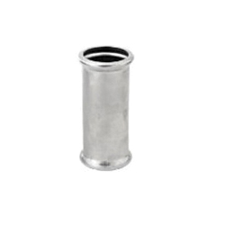 "Grinnell® 408200T G-PRESS Slip Coupling With Grade ""T"" Nitrile O-Ring, 2 in, Press, 316 Stainless Steel"