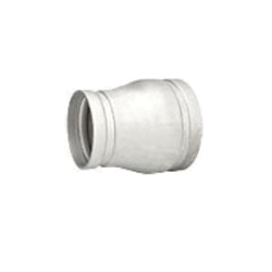 Grinnell® 45080604A Concentric Reducer, 8 x 6 in, Grooved, SCH 10/STD, 304 Stainless Steel, Import