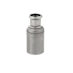 "Grinnell® 4742010E G-PRESS Pipe Reducer With Grade ""E"" EPDM O-Ring, 2 x 1 in, Female x Male, 316 Stainless Steel"