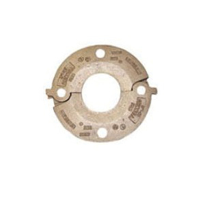 "Grinnell® 6140EN 61 Series Flange Adapter With Grade ""EN"" EPDM Gasket, 4 in, 8 5/8 x 3 in Bolt"