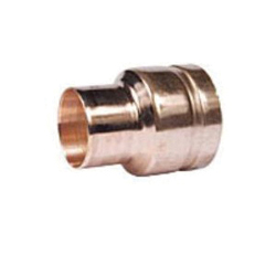 Grinnell® 6523020W Pipe Reducer, 3 x 2 in, Groove x Cup, Copper Alloy