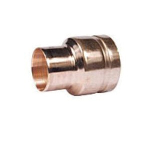 Grinnell® 6524020W Pipe Reducer, 4 x 2 in, Groove x Cup, Copper Alloy