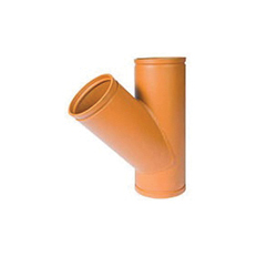 Grinnell® 75704 314 Lateral Fitting, 6 in, Grooved, Carbon Steel, Orange Painted