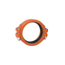 "Grinnell® 90920ES Plain End Coupling With Grade ""E"" EPDM Gasket, 2 in, Grooved, Ductile Iron, Painted"
