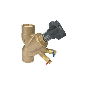 Grinnell® CB8005002 Circuit Balancing Valve, 1/2 in, Female Threaded NPT, Brass Body