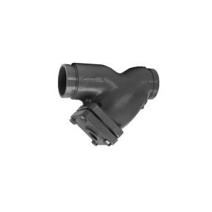 Grinnell® S85340 Wye Strainer, 4 in, Grooved, 12.13 in OAL, Ductile Iron