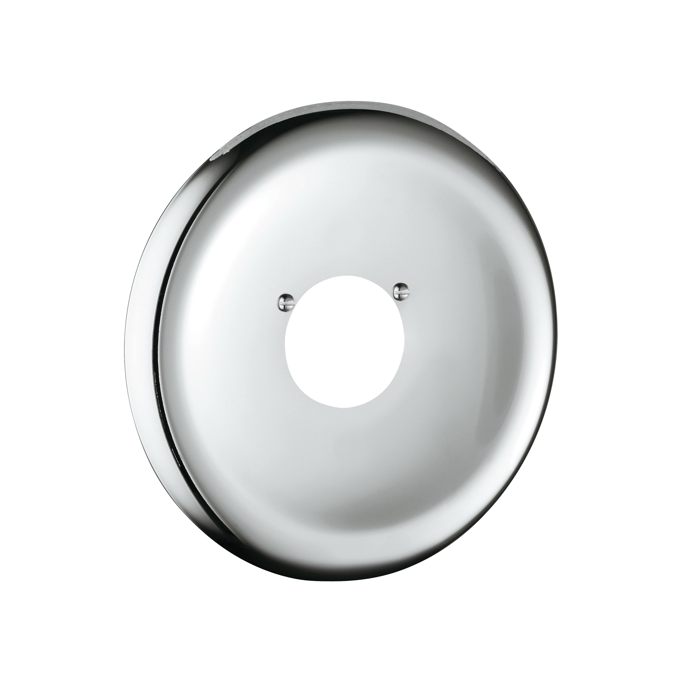 GROHE 07640000 Escutcheon, 6-3/4 in, StarLight® Chrome, Import