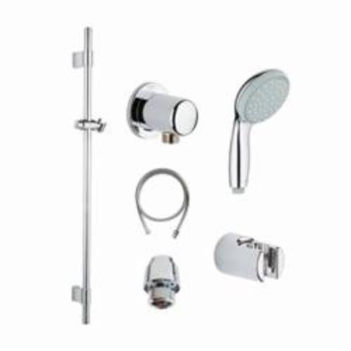 GROHE 121782 Tempesta Cosmopolitan Shower Kit, 59 in L Hose, Slide Bar: Yes