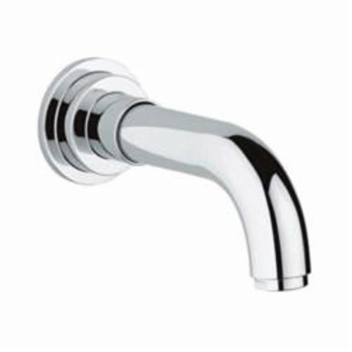GROHE 13164000 Atrio Bath Spout, 6-5/8 in L, 1/2 in FNPT Connection, Brass, Chrome Plated, Import