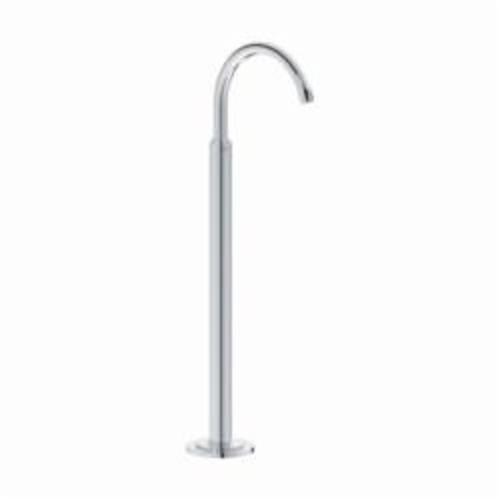 GROHE 13216001 Atrio Tub Spout, 11-7/8 in L, 7 gpm, Brass, Chrome Plated, Import
