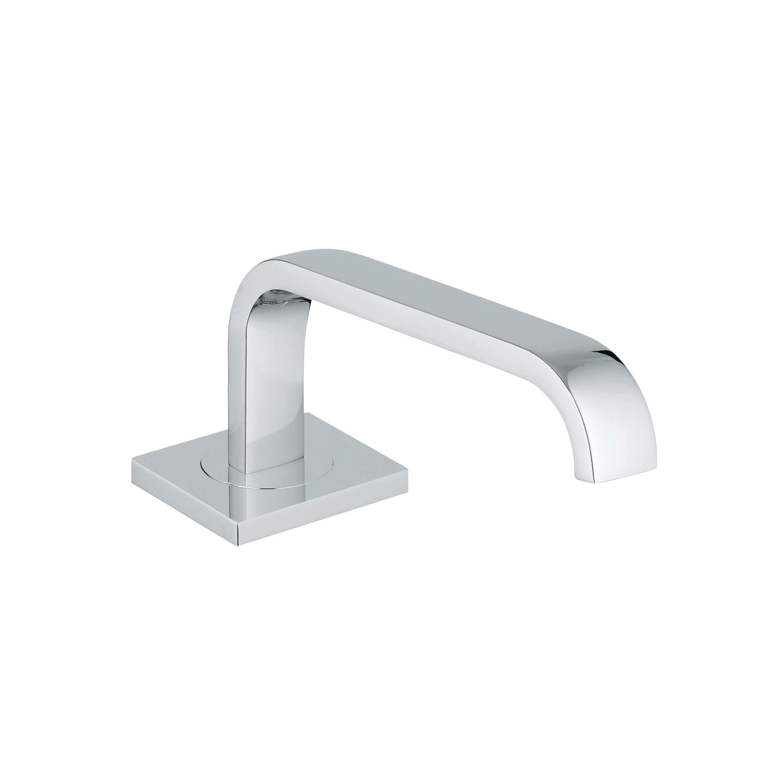 GROHE 13315000 Allure F-digital Bath/Tub Spout, 15 psi, 8-1/4 in Spout Reach, StarLight® Chrome, Import