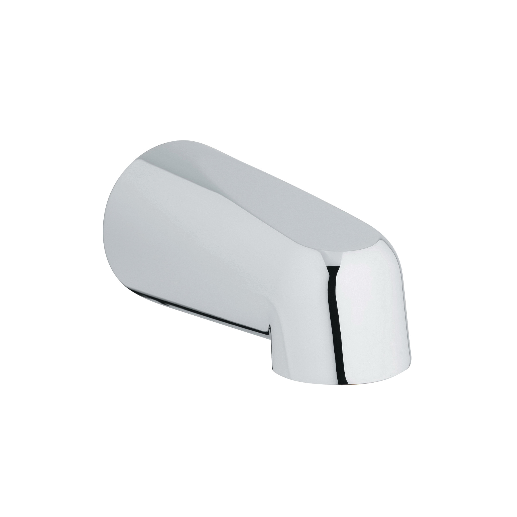 GROHE 13551000 Wall Mounted Tub Spout, 5 in Spout Reach, StarLight® Chrome, Import