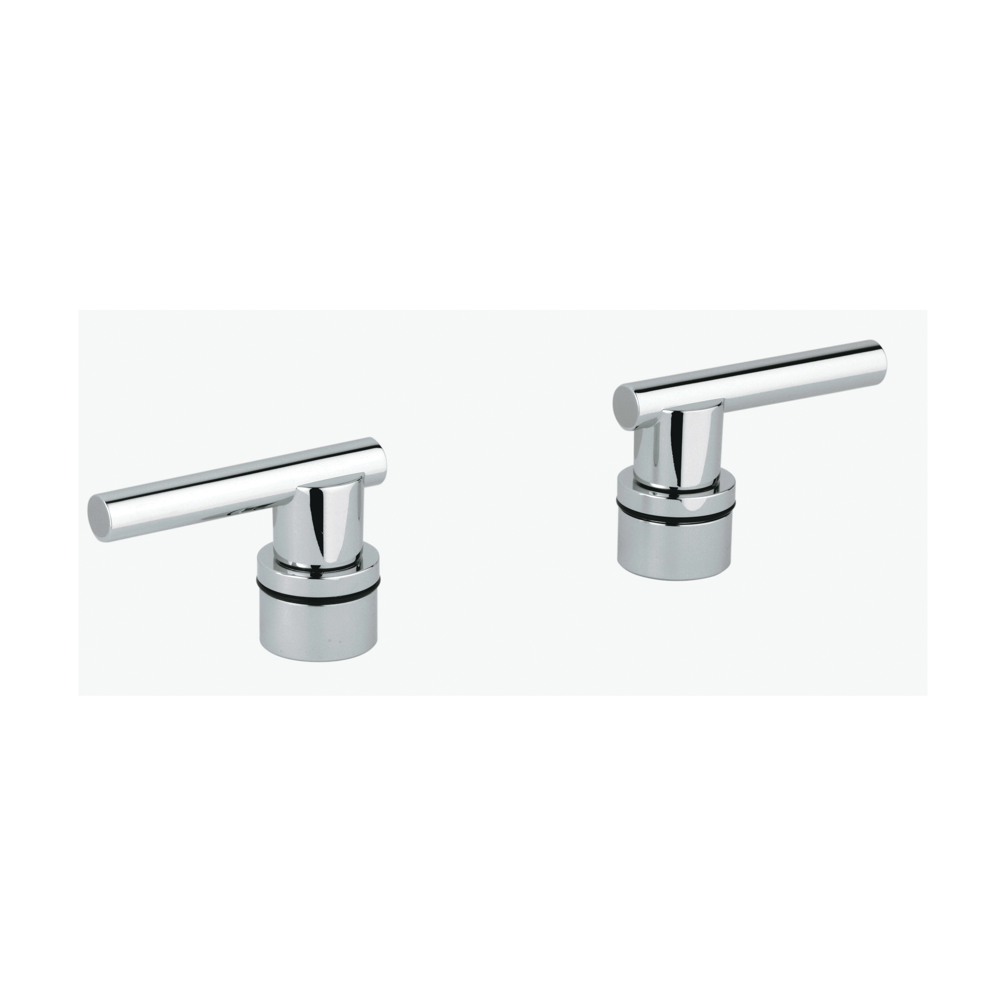 GROHE 18034000 Atrio® Lever Handle, For Use With Roman Tub Filler, Bathroom Sink, Brass, StarLight® Chrome, Import