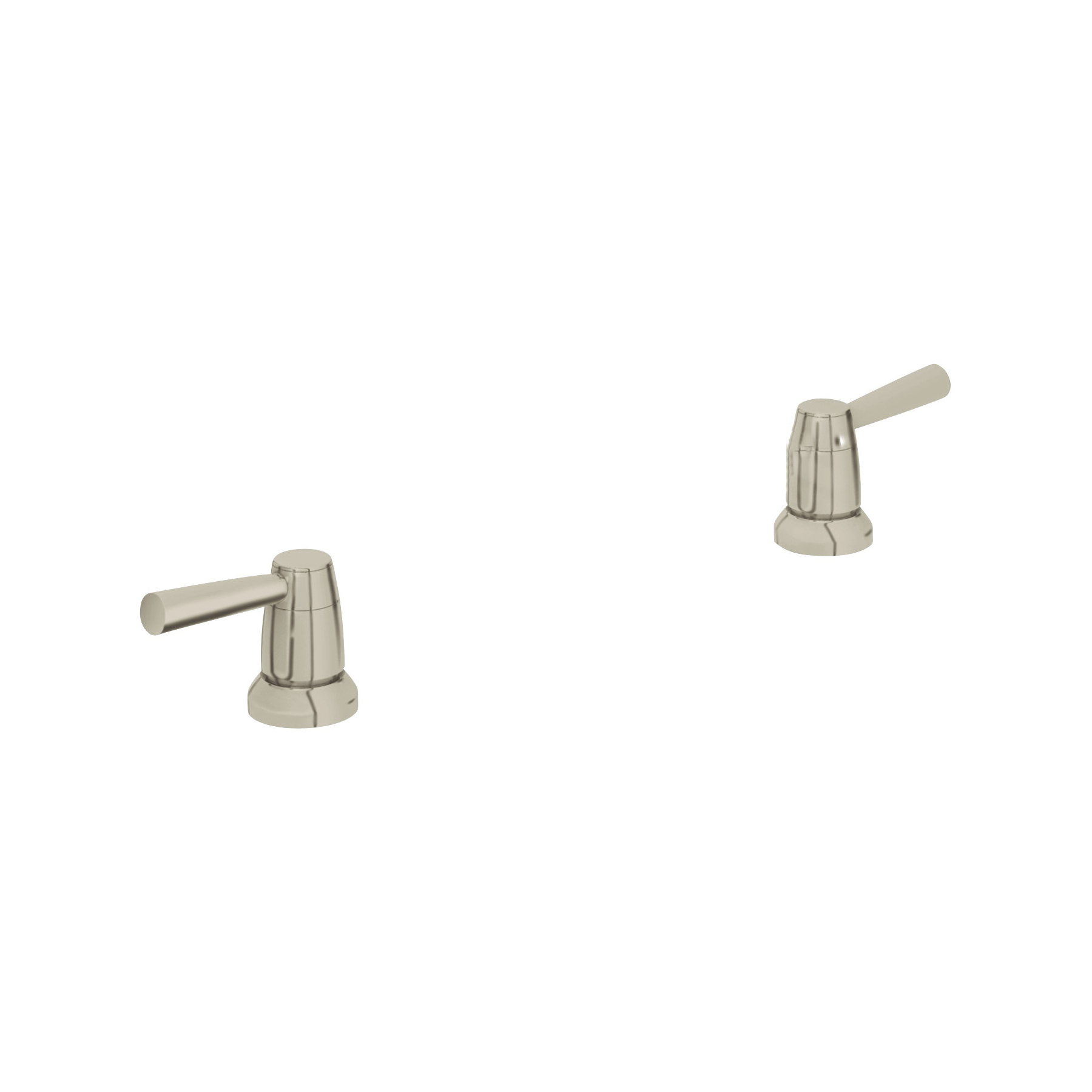 GROHE 18083EN0 Faucet Lever Handle, For Use With Widest Lavatory/Bidets and Roman Tub Faucet, Brass, Brushed Nickel, Import