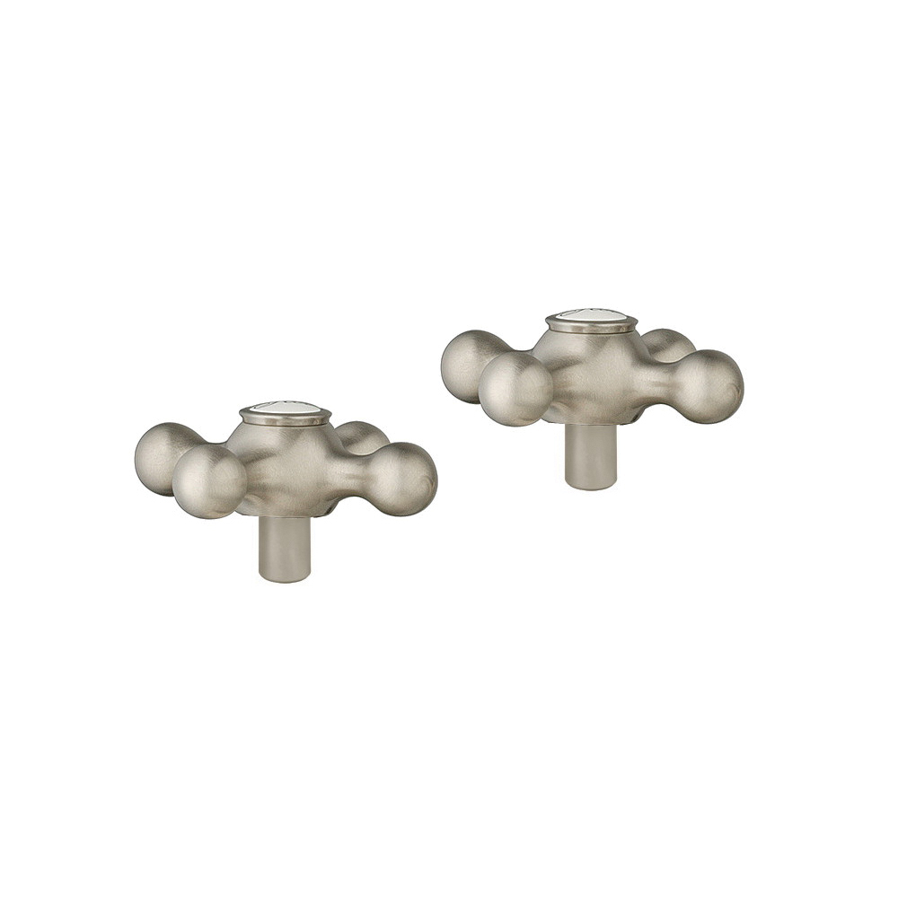 GROHE 18731EN0 Seabury® Faucet Cross Handle, For Use With Seabury 20800000 Bathroom Faucet, Metal, Brushed Nickel, Import