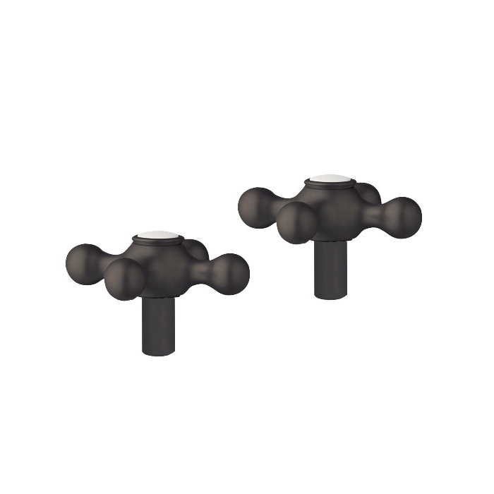 GROHE 18731ZB0 Seabury® Cross Handle, For Use With Bathroom Sink, Brass, Oil Rubbed Bronze, Import