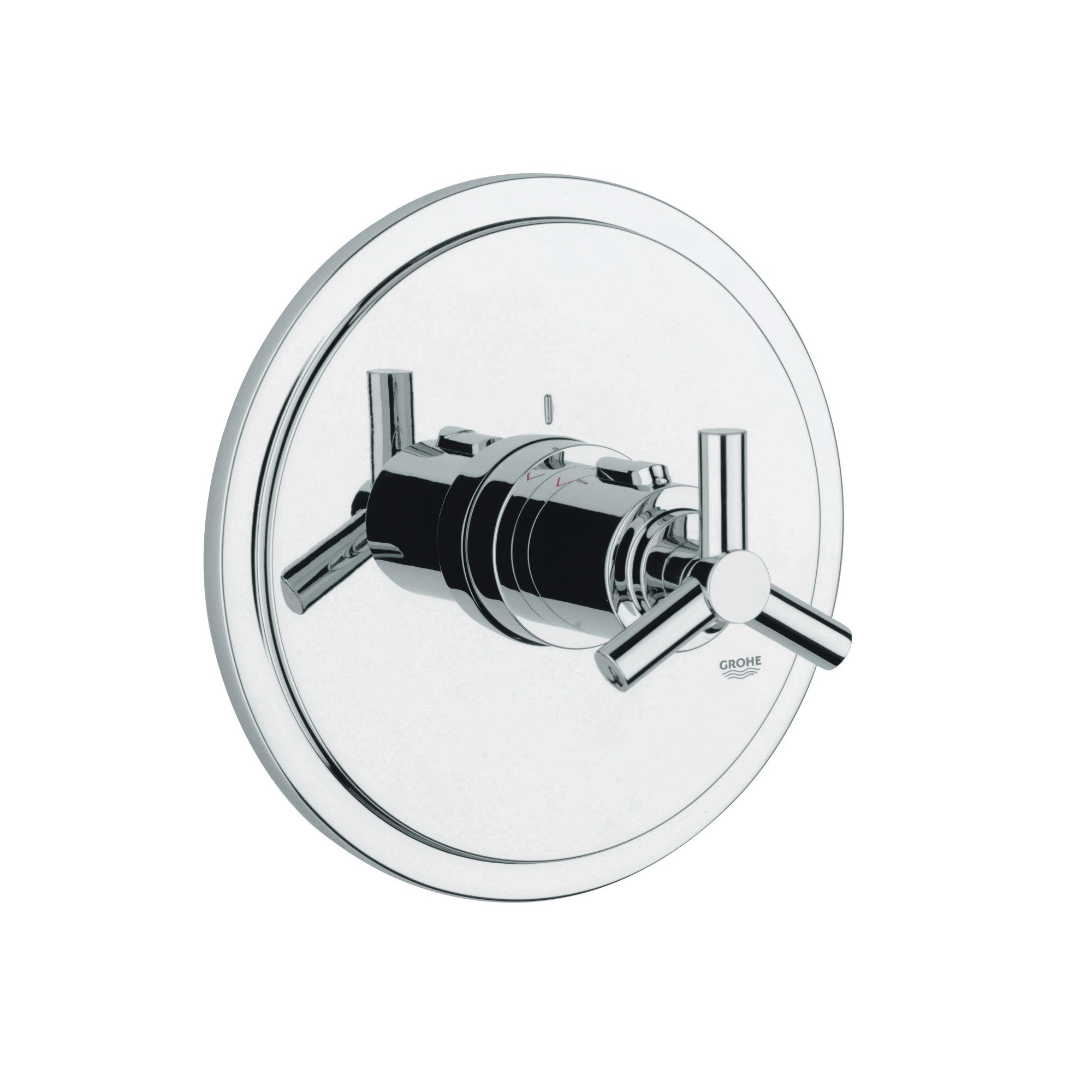 GROHE 19169000 Atrio® Central Thermostatic Mixer With Ypsilon Handle, Hand Shower Yes/No: No, Chrome Plated
