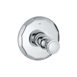 GROHE 19268000 Kensington® Valve Trim Kit, StarLight® Chrome Plated
