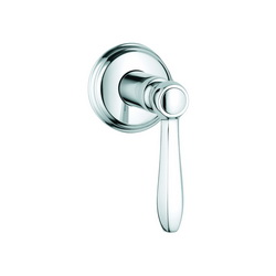 GROHE 19322000 Somerset™ Volume Control Valve Trim, StarLight® Chrome Plated