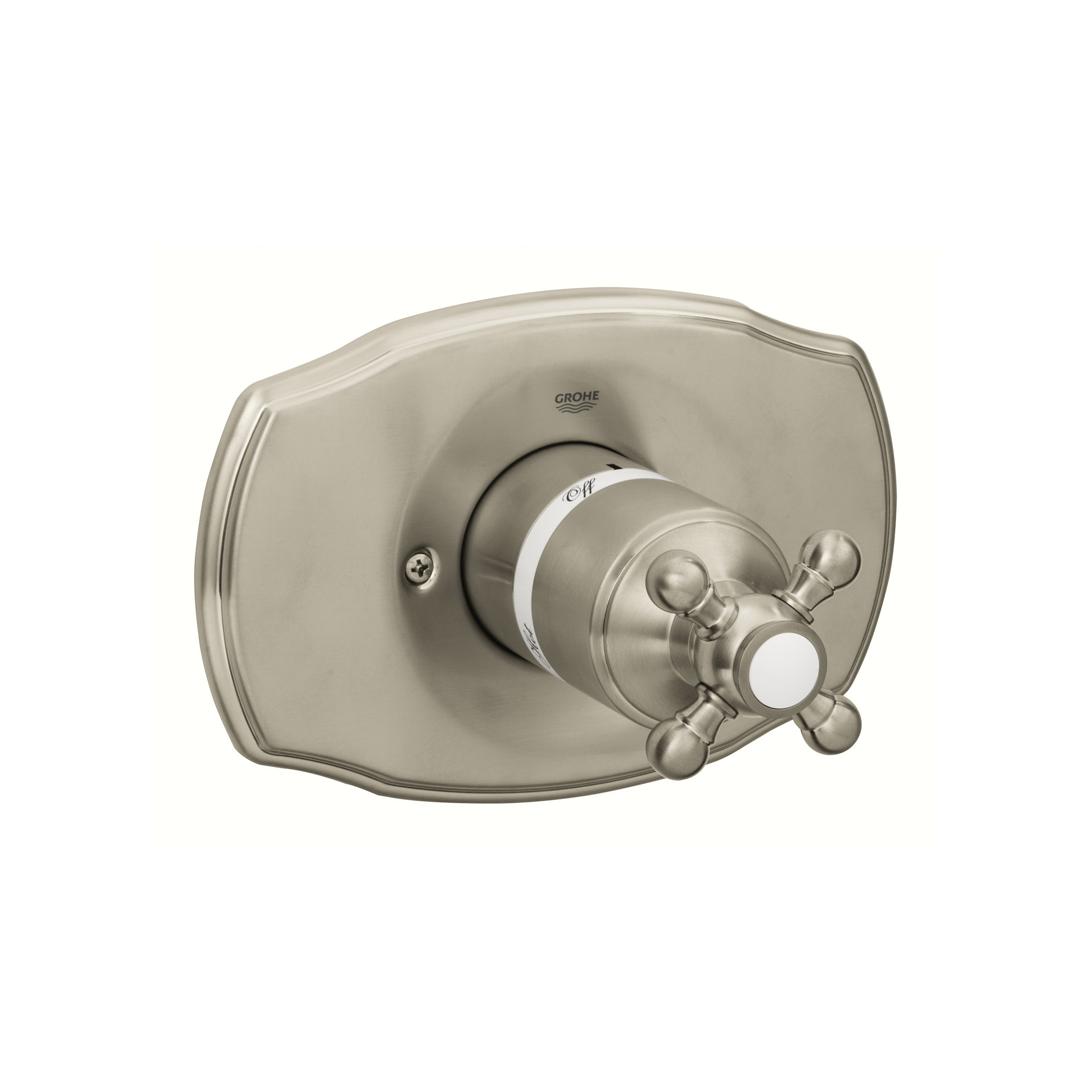 GROHE 19725EN0 Geneva™ Valve Trim Kit, Brushed Nickel