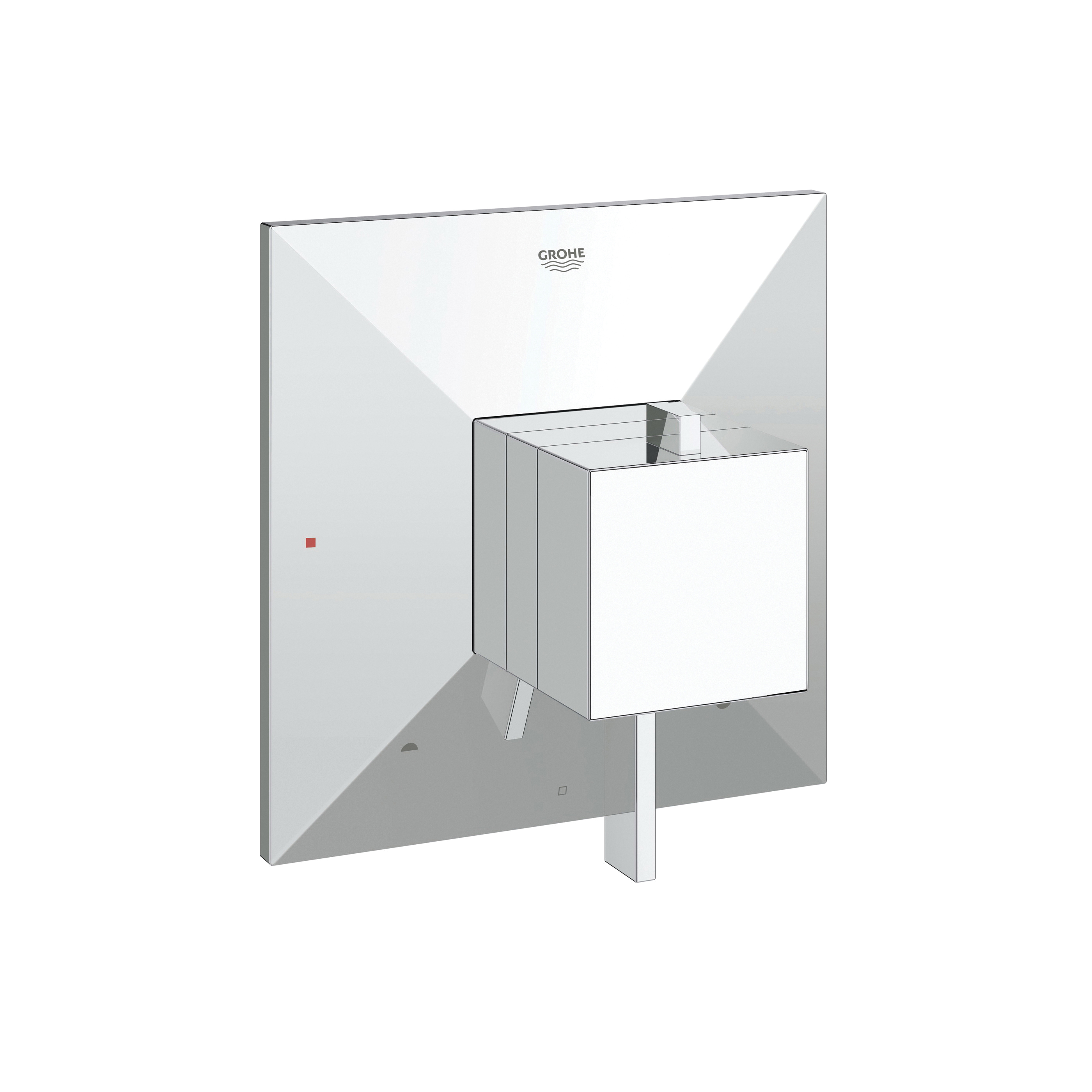 GROHE 19786000 Allure Brilliant Valve Trim, 5.6 gpm Shower, StarLight® Chrome Plated