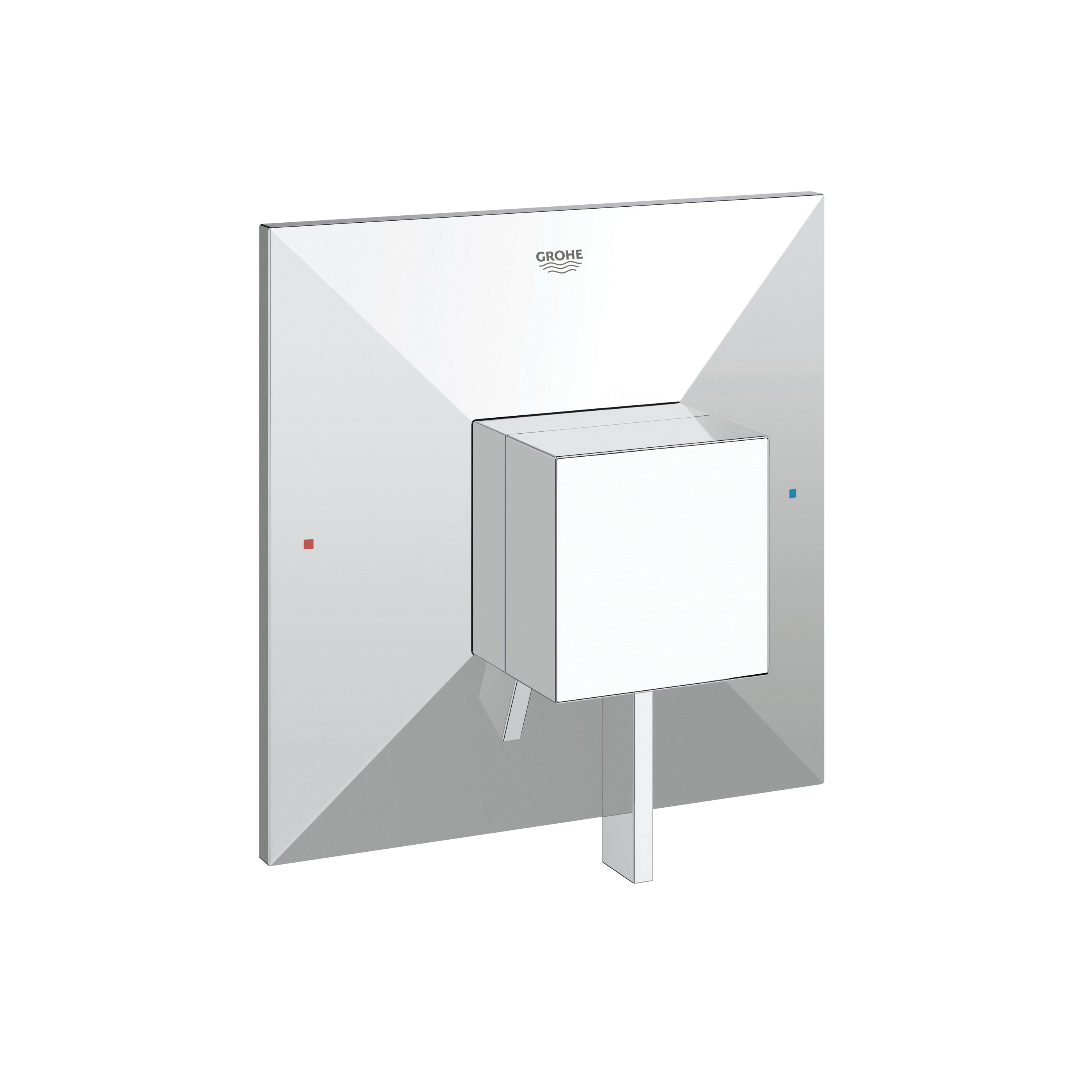 GROHE 19790000 Allure Brilliant Valve Trim, 6.1 gpm Shower, Chrome Plated