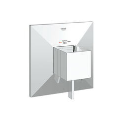 GROHE 19793000 Allure Brilliant 1-Function Trim, 6.3 gpm Shower, Hand Shower Yes/No: No, StarLight® Chrome Plated