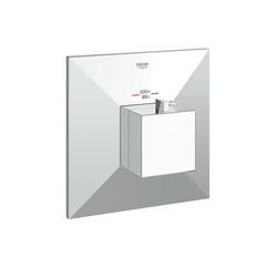 GROHE 19795000 Allure Brilliant Custom Shower Thermostatic Trim, 14 gpm Shower, Hand Shower Yes/No: No, Chrome Plated