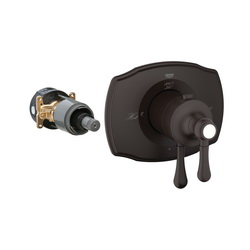 GROHE 19822ZB0 GrohFlex™ 2000 1-Function Trim, 6.3 gpm Shower, Hand Shower Yes/No: No, StarLight® Oil Rubbed Bronze