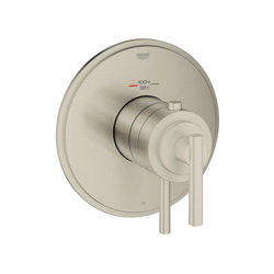 GROHE 19848EN0 Atrio® 1-Function Shower Trim, 6.3 gpm Shower, Hand Shower Yes/No: No, Brushed Nickel
