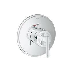 GROHE 19865000 Atrio® Custom Shower Thermostatic Trim, 14 gpm Shower, Hand Shower Yes/No: No, StarLight® Chrome Plated