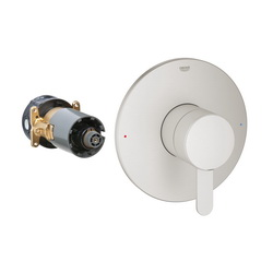 GROHE 19880EN0 Europlus® Valve Trim, 6.1 gpm Shower, Brushed Nickel