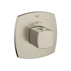 GROHE 19940EN0 Grandera™ Custom Shower Thermostatic Trim, 14 gpm Shower, Brushed Nickel