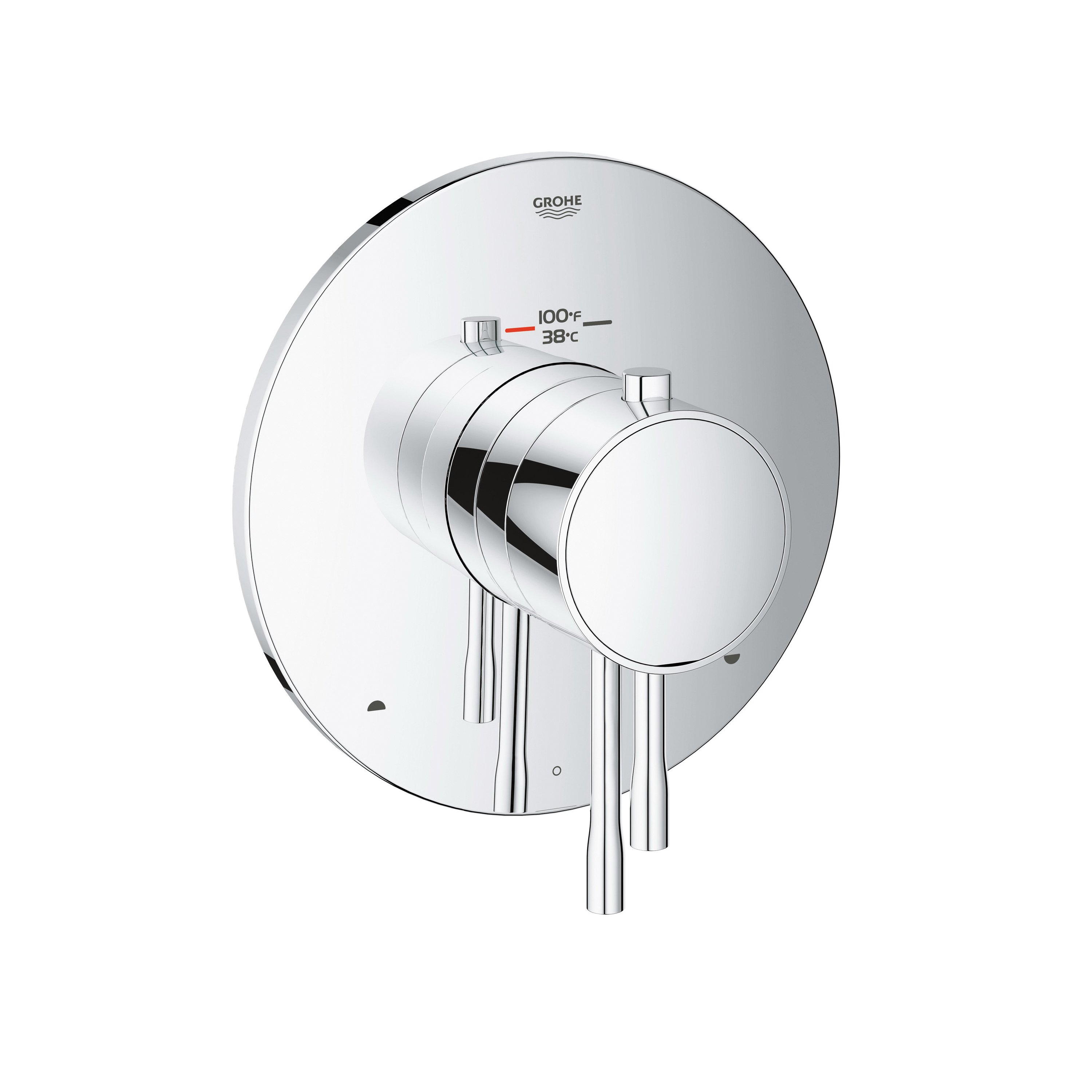 GROHE 19988001 Essence™ New 2-Function Trim, Hand Shower Yes/No: No, StarLight® Chrome Plated