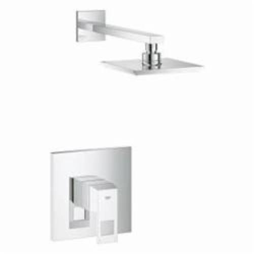 GROHE 23148000 Eurocube® Bathtub/Shower Combination, 2.5 gpm Shower, Hand Shower Yes/No: No, StarLight® Chrome Plated