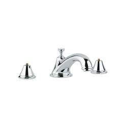 GROHE 25055000 Seabury™ Roman Bathtub Faucet, 12.6 gpm, StarLight® Chrome Plated, Hand Shower Yes/No: No, Import